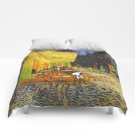 Snoopy meets Van Gogh Comforters