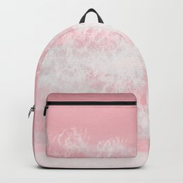 Pink Tides Watercolor Backpack