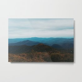 North Georgia Mountains Metal Print