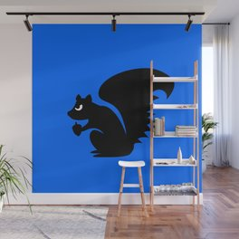 Angry Animals: Squirrel Wall Mural