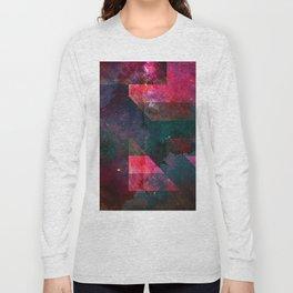 Pink Nebulae Long Sleeve T-shirt