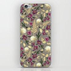 Flowers & Sea Shells iPhone Skin