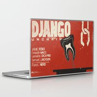 django Laptop & iPad Skins featuring Django Unchained - Alternative movie poster by Stefanoreves
