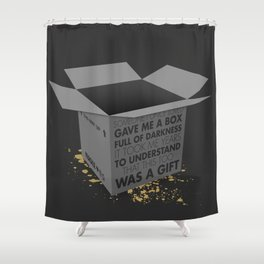 Someone I Once Loved Shower Curtain
