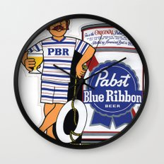 Take A Dip With PBR Wall Clock