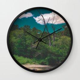 River Days Wall Clock
