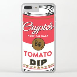 Crypto's : Buy the Dip Clear iPhone Case