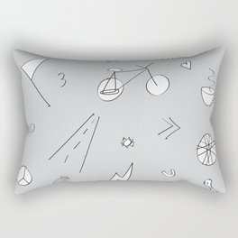Bike Life Rectangular Pillow