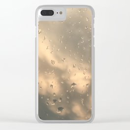 Stormy Clouds - Mammatus Clear iPhone Case
