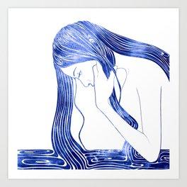 Nereid IV Art Print