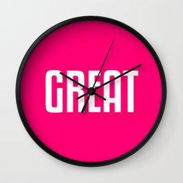 Great Wall Clock