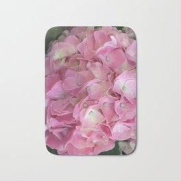 Pink Hydrangea Bath Mat