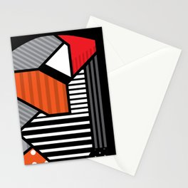 zebra finches Stationery Cards
