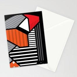 zebra finches Stationery Cards