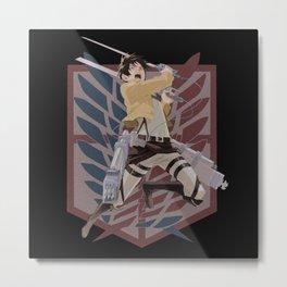 Eren Jaeger v2 Metal Print