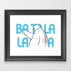 Fist Bump Framed Art Print