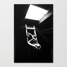 Out into The Dark Canvas Print