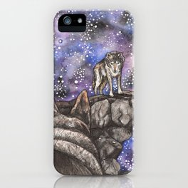The Silent Howl iPhone Case