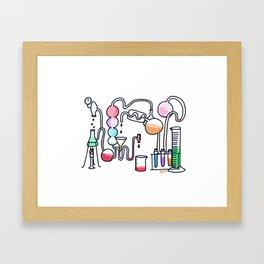 Chemistry Set Framed Art Print