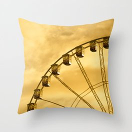 Carnival Is Over Throw Pillow