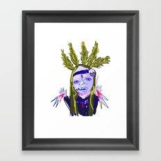ahHHHHH #4 Framed Art Print