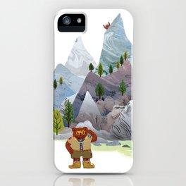 Bear troop iPhone Case