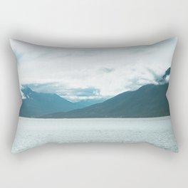 Turnagain Arm Rectangular Pillow