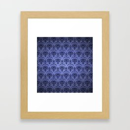 Beauty Haunted Mansion Wallpaper Stretching Room Framed Art Print