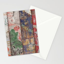Vintage Posters Collection Stationery Cards
