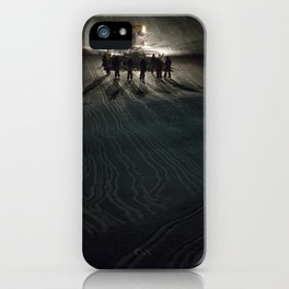Epic cat light at Nine Knights 2014 iPhone Case