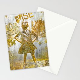 Fearless Girl Stationery Cards