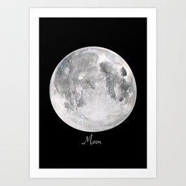 Moon #2 Art Print