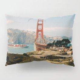 Golden Gate Bridge shot on film Pillow Sham
