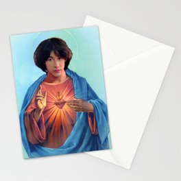 Saint Ted Theodore Logan Stationery Cards