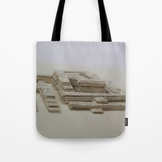 Book Art Maze Tote Bag
