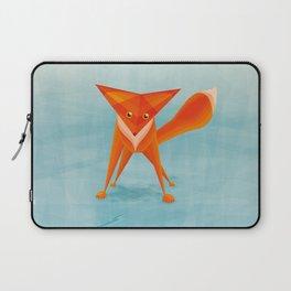 Fox on ice Laptop Sleeve