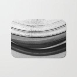 Coiled Snake - An Abstraction Bath Mat