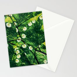 Tree With the Lights Stationery Cards