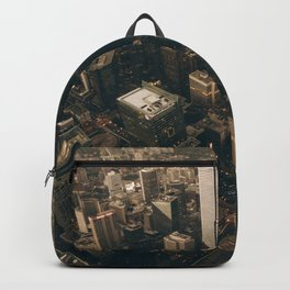 NYC from above - Ariel Image Backpack