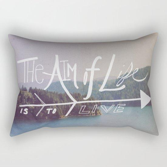 The Aim of Life II Rectangular Pillow