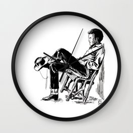 The Cowboy from the East Wall Clock