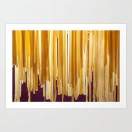 Sundried stripes Art Print