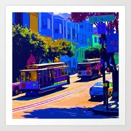 San Francisco 002 Art Print
