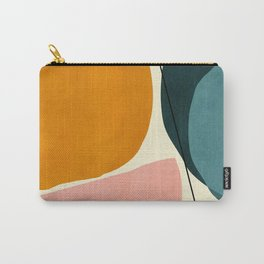 shapes geometric minimal painting abstract Carry-All Pouch
