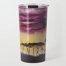 African sunset Travel Mug