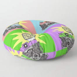Let's warholize...and say cheese! Floor Pillow