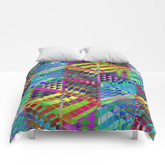 Geometric 2 Comforters