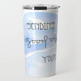 Sending Good Vibes Your Way Travel Mug