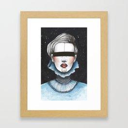 Space Princess Framed Art Print