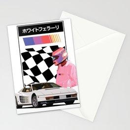 White 'Rari Stationery Cards